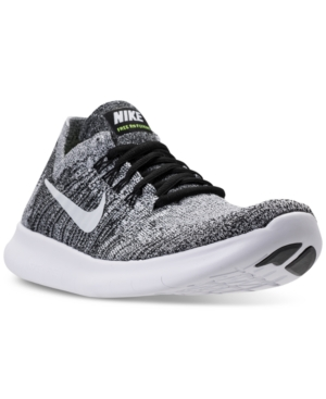 Nike Lace-ups WOMEN'S FREE RUN FLYKNIT 2017 RUNNING SNEAKERS FROM FINISH LINE