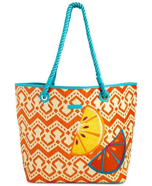Vera Bradley Beach Tote - Handbags   Accessories - Macy s 40346b5952