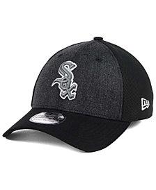 New Era Chicago White Sox Black Heathered 39THIRTY Cap