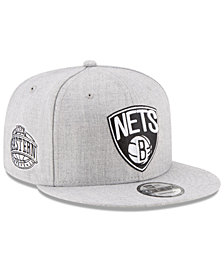 New Era Boys' Brooklyn Nets The Heather 9FIFTY Snapback Cap