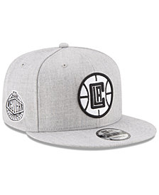 New Era Boys' Los Angeles Clippers The Heather 9FIFTY Snapback Cap