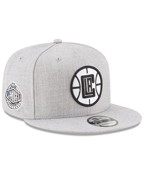 pretty nice 589bf 49df2 ... Snapback Cap  New Era Boys  Los Angeles Clippers The Heather 9FIFTY  Snapback ...