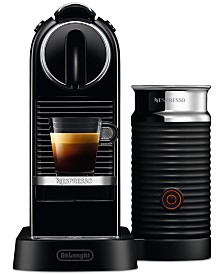 Nespresso CitiZ & Milk Coffee and Espresso Machine by De'Longhi