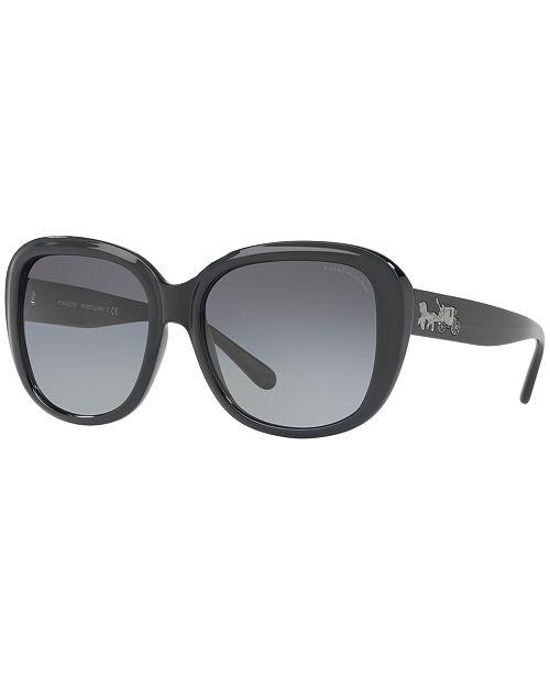 73f23470aaa5 COACH Polarized Sunglasses , HC8207; COACH Polarized Sunglasses , HC8207 ...