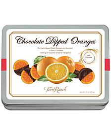 Torn Ranch Dark Chocolate Dipped-Oranges Tin