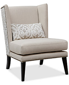 Emma Accent Chair, Quick Ship