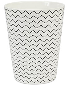 Creative Bath Modern Angles Wastebasket