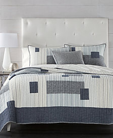 CLOSEOUT! Hotel Collection Patchwork Quilt Collection, Created for Macy's