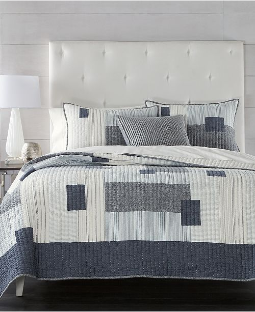 Hotel Collection CLOSEOUT! Patchwork Quilt Collection, Created for Macy's