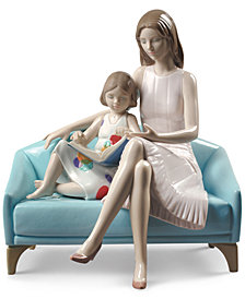 Lladró Our Reading Moment Figurine