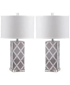 Safavieh Set of 2 Garden Table Lamps