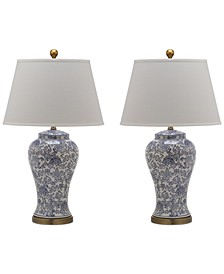 Set of 2 Spring Blos Table Lamps