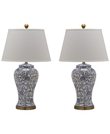 Safavieh Set of 2 Spring Blos Table Lamps