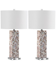 Safavieh Set of 2 Jacoby Table Lamps