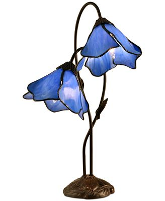 Dale Tiffany Poelking 2 Light Lily Table Lamp Lighting Lamps