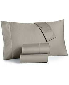 King 4-Pc Sheet Set, 550 Thread Count 100% Supima Cotton, Created for Macy's
