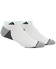 adidas Men's 2 Pack Speed Mesh ClimaLite Low-Cut Socks