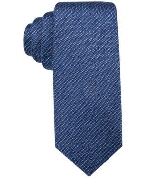 "Alfani Men's Blue 3"" Tie, Created for Macy's thumbnail"