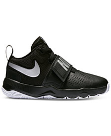 Nike Little Boys' Team Hustle D8 Basketball Sneakers from Finish Line