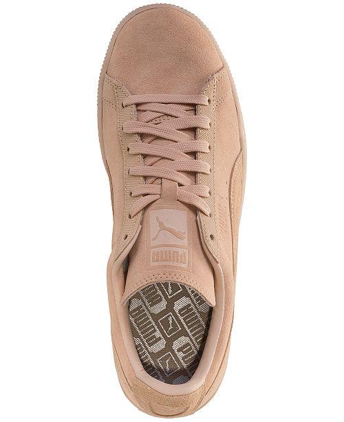 04fa62548ca Puma Men s Suede Classic Tonal Casual Sneakers from Finish Line ...