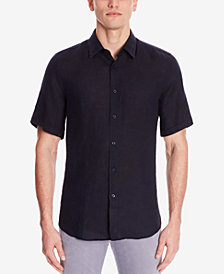 BOSS Men's Regular/Classic-Fit Linen Shirt