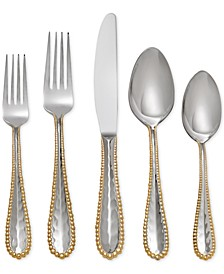 Molten Gold Collection 5-Piece Place Setting