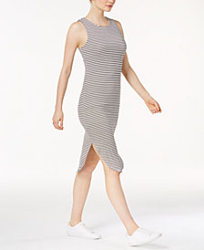 Bar III Striped Tank Dress, Created for Macy's