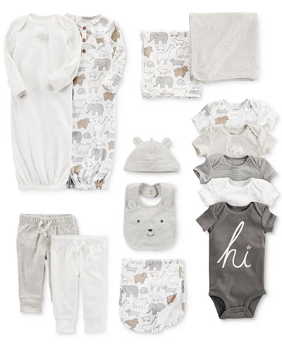 Carter's Elephant Bodysuits, Sleeper Gowns, Jogger Pants, Swaddle Blankets & Accessory Sets, Baby Boys & Girls