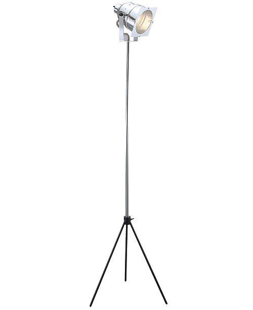 Adesso Spotlight Tripod Floor Lamp