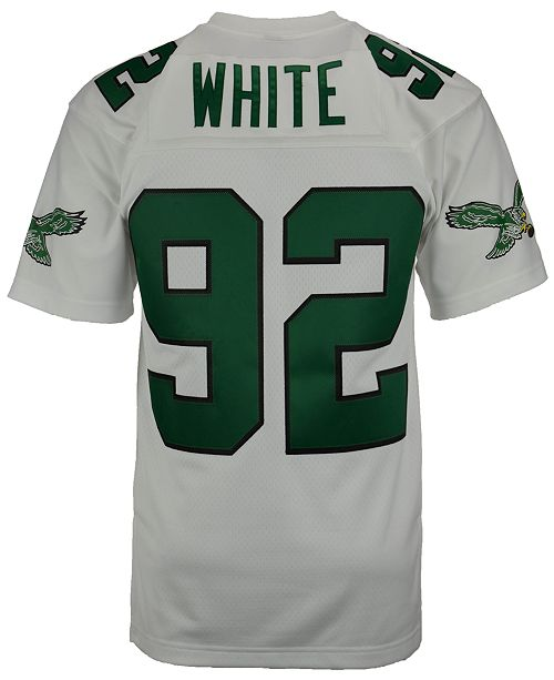 san francisco 82690 0f51c Men's Reggie White Philadelphia Eagles Replica Throwback Jersey