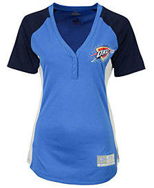 Majestic Women's Oklahoma City Thunder Fanatic Outlook T-Shirt