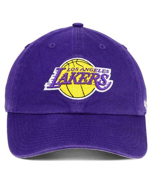 Christmas Tree Lane Los Angeles: '47 Brand Los Angeles Lakers Clean Up Cap & Reviews