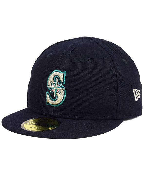 New Era Seattle Mariners Authentic Collection My First Cap, Baby Boys