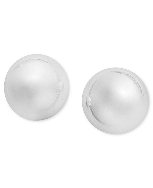 213353e4c Giani Bernini Sterling Silver Ball Stud Earrings & Reviews ...