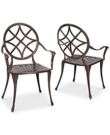 Reynard Set of 2 Dining Chairs, Quick Ship