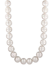 Pearl Lace by EFFY® Cultured Freshwater Pearl (10mm) Strand Necklace