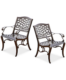 Kerine Set of 2 Chairs, Quick Ship