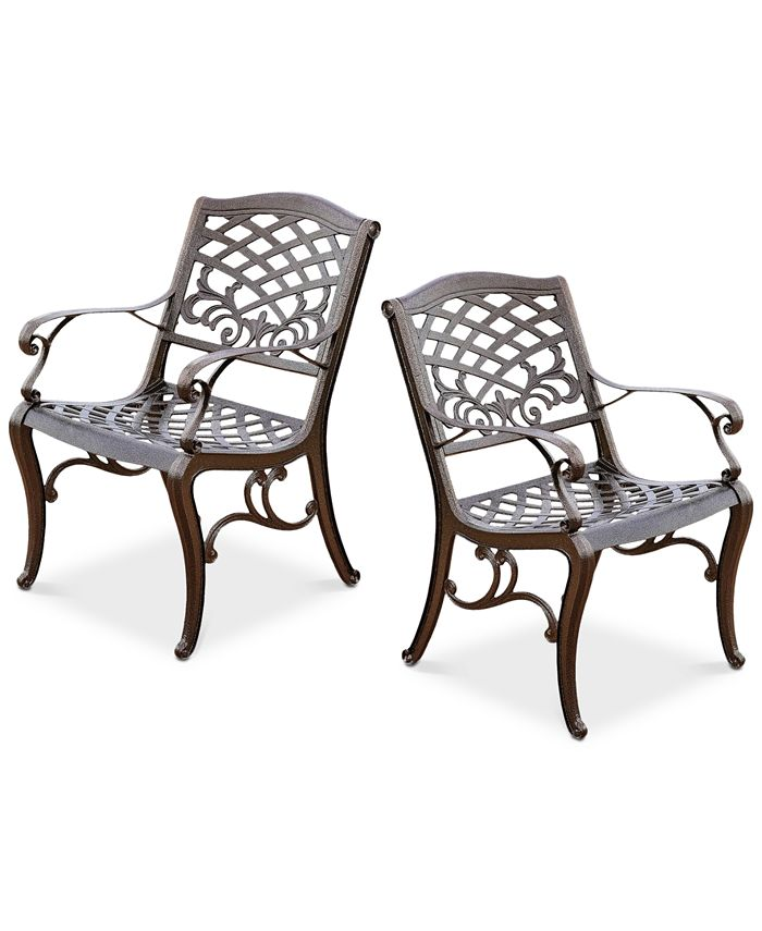 Noble House - Kerine Set of 2 Chairs, Quick Ship