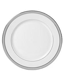 Platinum Crown Salad Plate