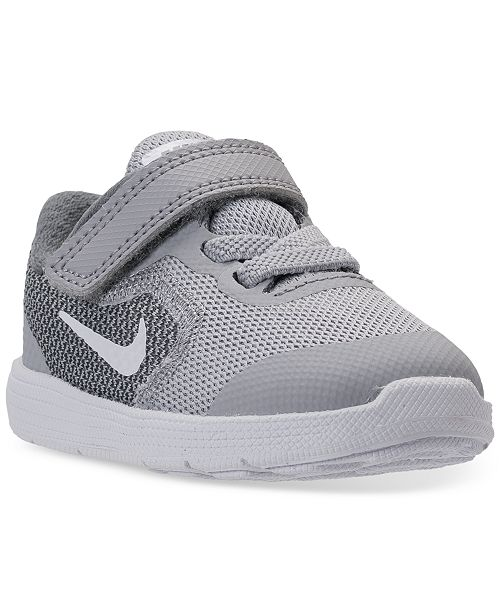30ca0e8afc ... Nike Toddler Boys' Revolution 3 Stay-Put Closure Running Sneakers from  Finish ...