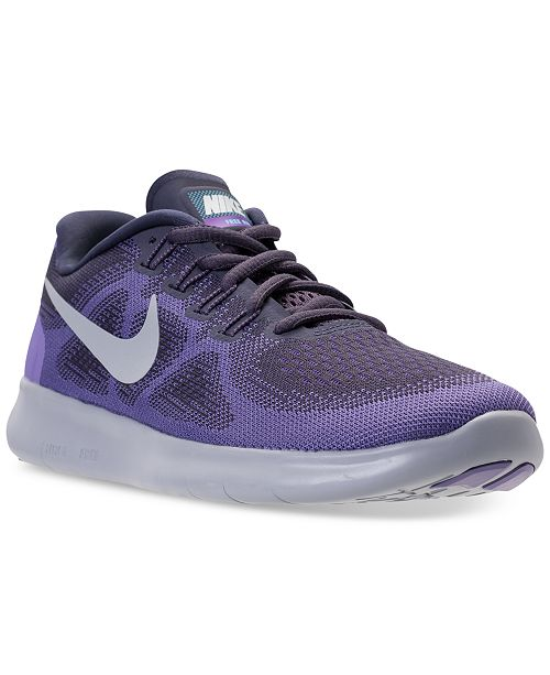 074708d3ab89 Nike Women s Free Run 2017 Running Sneakers from Finish Line ...