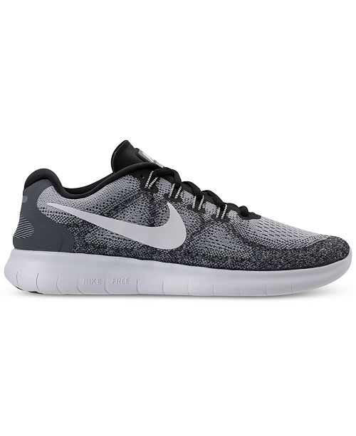 620a52d13a40 Nike Men s Free Run 2017 Running Sneakers from Finish Line   Reviews ...