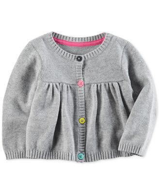 Carter's Babydoll Cotton Cardigan, Baby Girls