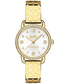 Women's Delancey Gold-Tone Bracelet Watch 28mm 14502766