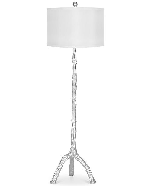 Safavieh Branch Silver-Finish Floor Lamp