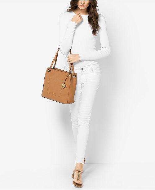 c8899c92717d Michael Kors Walsh Medium Shoulder Tote   Reviews - Handbags ...