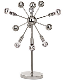 Safavieh Solar Sputnik Chrome-Tone Table Lamp