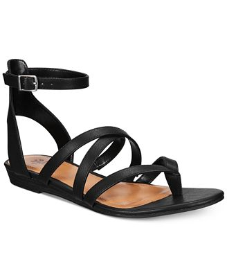 Style & Co Bahara Strappy Sandals, Created for Macy's
