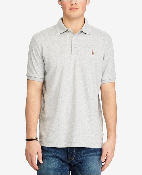bb9b3f46 Polo Ralph Lauren Men's Classic Fit Soft Touch Cotton Polo & Reviews