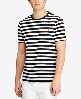 Polo Ralph Lauren Men's Custom Slim Fit Striped Cotton T-Shirt